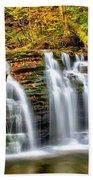 Wyandot Falls Ricketts Glen Beach Towel