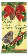 Xmas Around The World 2 Beach Towel