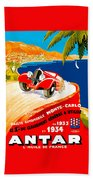 Monte Carlo Beach Towel