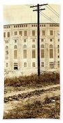 Yankee Stadium 1923 Beach Towel