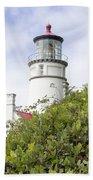 Haceta Head Lighthouse 7 Beach Towel
