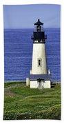 Yaquina Historic Lighthouse Beach Towel