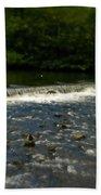 Ye Olde River Wye Beach Towel