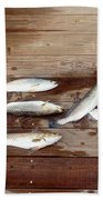 Yea It's Trout For Dinner Beach Towel