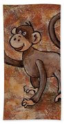 Year Of The Monkey Beach Towel