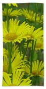 Yellow And Green Beach Towel