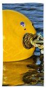 Yellow Buoy Beach Towel