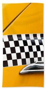 Yellow Cab - 4 Beach Towel