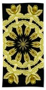Yellow Fantasy Beach Towel