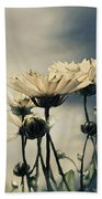Yellow Gerber Daisy Beach Towel