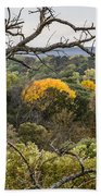 Yellow Leaves Beach Sheet