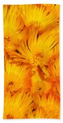 Yellow Radiance  Beach Towel