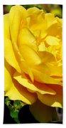 Yellow Rose IIi Beach Towel