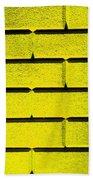 Yellow Wall Beach Towel