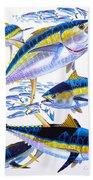 Yellowfin Run Beach Towel