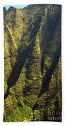 Yellows And Greens  Beach Towel