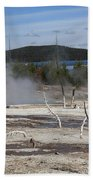 Yellowstone National Park - Hot Springs Beach Towel