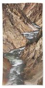 Yellowstone National Park Montana  3 Panel Composite Beach Towel