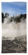 Yellowstone National Park - Mud Pots Beach Towel
