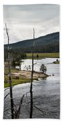Yellowstone River  Beach Towel