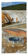 Yellowstone Small Crested Pool Beach Towel