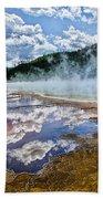 Yellowstone - Springs Beach Towel