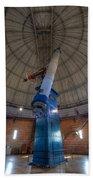 Yerkes Observatory Telescope Beach Towel