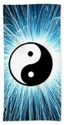 Yin Yang Beach Towel by Tim Gainey