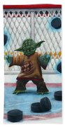 Yoda Saves Everything Beach Towel by Marlon Huynh