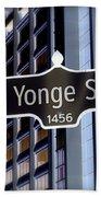 Yonge Street Beach Towel