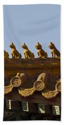 Yonghegong Lama Temple 9482 Beach Towel