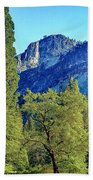 Yosemite Ahwahnee Hotel Courtyard Beach Towel