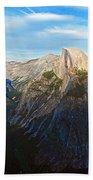 Yosemite Glacier Point Panorama Beach Towel