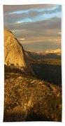 Yosemite Half Dome Beach Towel