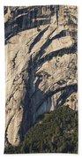 Yosemite Rock Detail Beach Towel