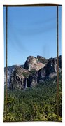 Yosemite Triptych Beach Towel