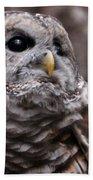 You Can Call Me Owl Beach Towel