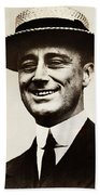 Young Franklin  Roosevelt Beach Towel