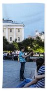 Young Lovers And Other Strangers - Moscow- Russia Beach Towel