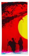 Young Warriors Beach Towel