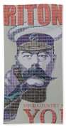 Your Country Needs You Beach Towel