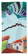 Your Reality Or Mine. Realities Vis-a-vis Or When A Rupture Matters Beach Towel