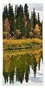 Yukon Autumn Beach Towel