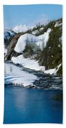 Yukon View Beach Towel