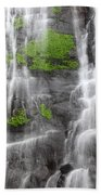 Yungas Waterfall Detail Beach Towel