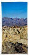 Zabriskie Point Panoramic Beach Towel