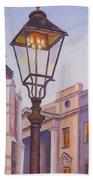 Zagreb Gaslight - Croatia Beach Towel