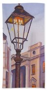 Zagreb Gaslight - Croatia Beach Sheet