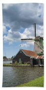 Zaanse Schans Beach Towel