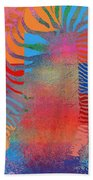 Zebra Art - Mtc077b Beach Towel